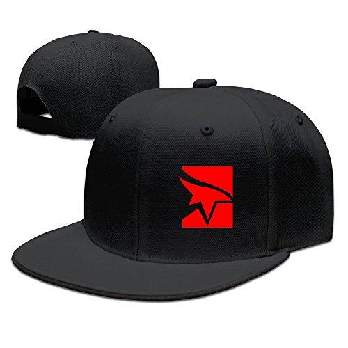 Price comparison product image Cool Mirrors Edge Adjustable Baseball Hats (8 Colors) Black