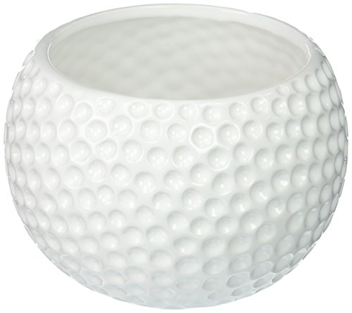 - Large Ceramic Golf Ball Container - Use as a Planter, Candy Dish or Gift Basket!