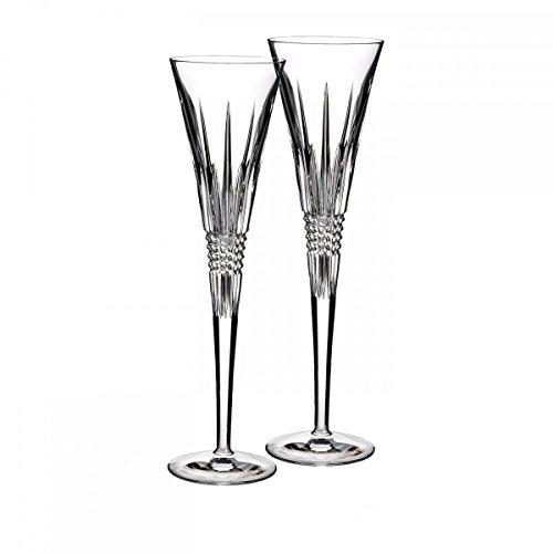 Lismore Diamond Toasting Flute Glass (Set of -