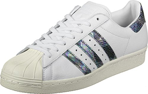 Sneakers Adidas Mens Superstar Anni 80 Bianche