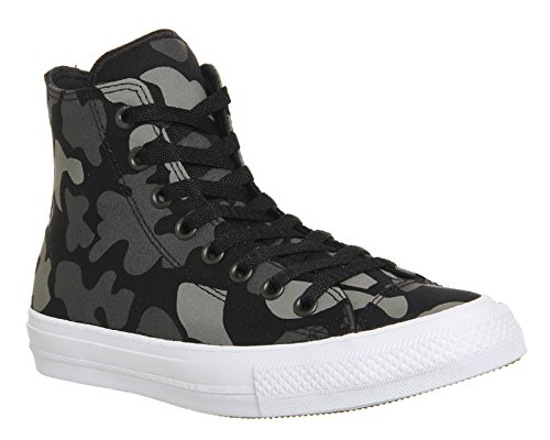 Converse Unisex Adults' Chuck Taylor All Star Ii Hi-Top Sneakers Charcoal Reflective Camo Americana Q1yph0D9u
