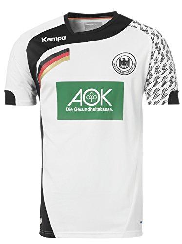 Kempa DHB Handball Home/Heim Trikot 2016 - weiß/schwarz, Größe:M
