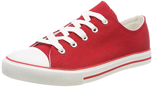 New Look WoMen Marked Trainers Red (Bright Red 60)