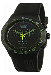 Swatch Green In Dark Men's Watch YOB100