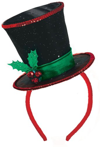 Amscan-Fun-Filled-Christmas-and-Holiday-Party-Diva-Headband-Top-Hat-1-Piece-11-x-8-Multicolor