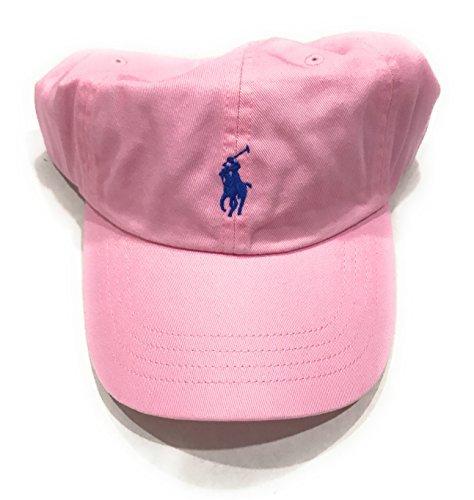 Polo Ralph Lauren Monogram Adjustable Ball Cap (One Size, Pink) by Polo Ralph Lauren