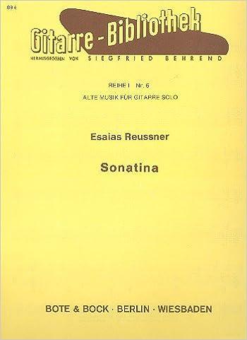 Guitar Sonatina GB6. Partituras para Guitarra: Amazon.es: Libros