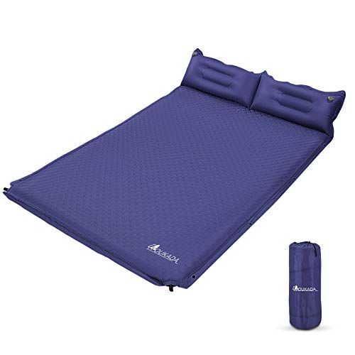 CAMPMAX Closed Cell Foam Sleeping Pad for Backpacking Ultralight Portable Folding Camping Mat for Sleeping Grey Easy to Carry with Straps
