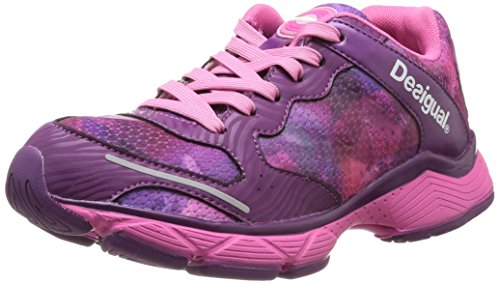Desigual Brisa Damen Hallenschuhe Violett (Violet (3089 Fresa Acid))