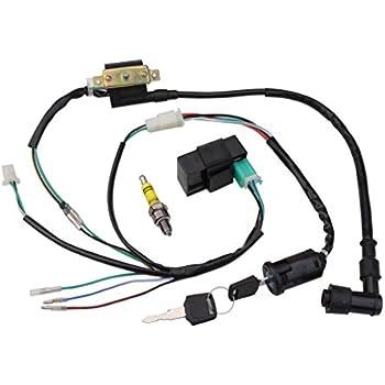 goofit ignition rebuilt kit wiring harness for. Black Bedroom Furniture Sets. Home Design Ideas