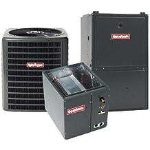 3 Ton Goodman 14 SEER R410A 96% AFUE 100,000 BTU Vertical Gas Furnace Split System