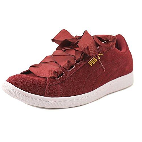 PUMA Women's Vikky Ribbon Sneaker Tibetan Red/Tibetan Red