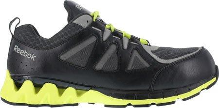 Reebok Travail Hommes Zigkick Travail Rb3000 Athlétique Chaussure De Sécurité Noir / Jaune