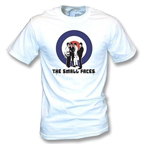 TshirtGrill Die kleinen Gesichter - Ziel-/Gruppent-shirt, Farbe- Weiß