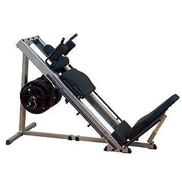 Body-Solid las piernas Prensa 45 °/Muslos, 30 mm o 50 mm Discos ...