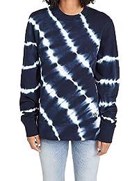 Women's Tie Dye French Terry Crew Sweatshirt