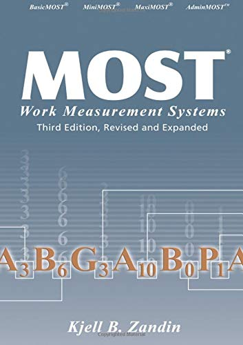 MOST Work Measurement Systems, 3rd Edition (Measurement 3 Systems)