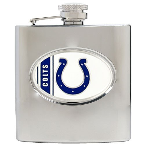 NFL Indianapolis Colts 6oz Stainless Steel Hip Flask