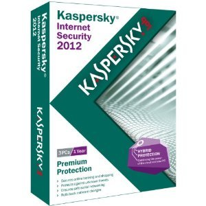Kaspersky Internet Security 2012 - 3 Users- Frustration Free Packaging [Old Version] (Kaspersky Internet Security 2015 1pc 3 Year)