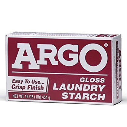 Argo Gloss Laundry Starch, 16 oz (Pack of 6)