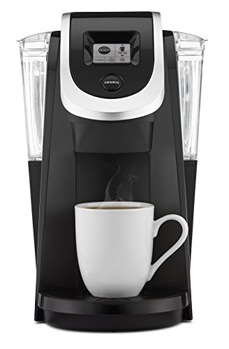 Keurig K250 Single Serve, K-Cup Pod Coffee Maker with Strength Control, Programmable, Black