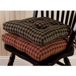 - Park Designs Sturbridge Chair Pad - Wine