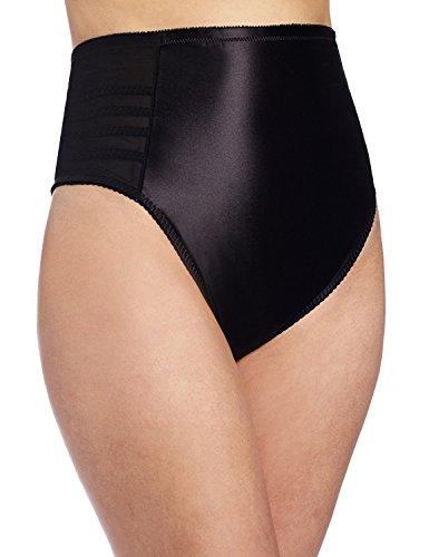Waist Panties Brief Rago High (Rago 900 High Waist Firm Shaping Thong, Beige, 2X-Large)