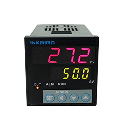 Inkbird °F and °C Display PID Stable Temperature Controller ITC-106RL Relay Output AC/DC 12-24V