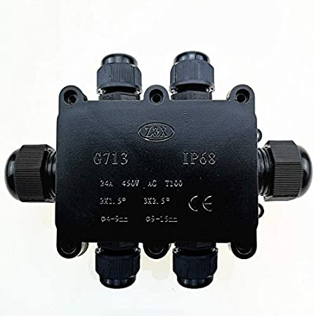 Bo/îte de jonction Bo/îte de jonction /à six voies /étanche LLP G713 IP68 pour prot/éger la carte de circuit imprim/é