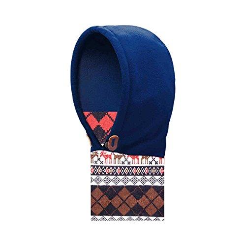 triwonder Pasamontañas Máscara de gorro para niños tela polar térmico calentador de cuello invierno máscara de esquí Full Face Tapa, Navy Blue - 2017