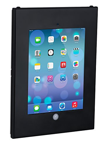 """Mount-It! Tablet Wall Mount with Anti-Theft Locking Function for Public Displays, Fits iPad, iPad 2, 3, 4, iPad Air, iPad Air 2, iPad with Retina Display, iPad Pro 9.7"""", or 9.7 Inch Screen Tablets"""