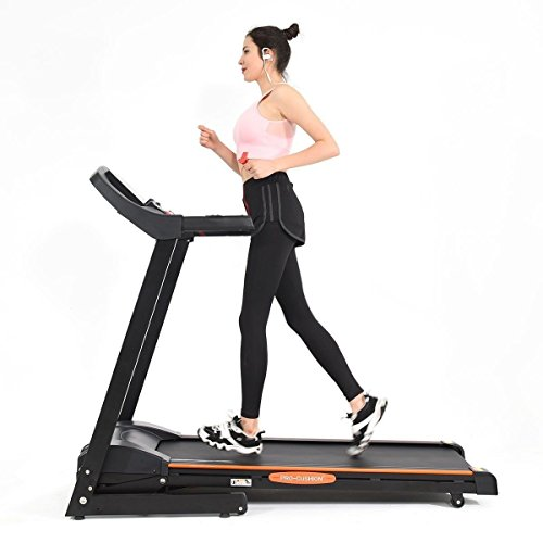 CHOOSEandBUY 2.5 HP Electric Motorized Power Folding Treadmill Gym Exercise Tool Workout Lbs