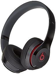 Beats Solo 2 Wired On-Ear Headphone - Black (Certified Refurbished)