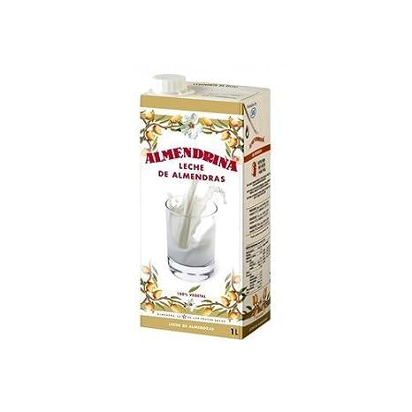 Bebida de Almendras (Con Azúcar) 6 unidades de 1 litro de Almendrina: Amazon.es: Salud y cuidado personal