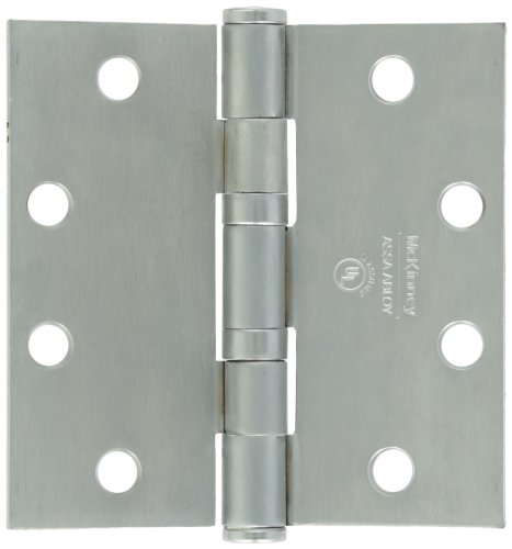 Securitron EH-45 Electrified Hinge, Stainless, 6 Wire, 4.5'' x 4.5'' by Securitron