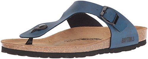 bf638c642f4 Bayton Men's MERCURE Sandal, Blue, 43 Medium EU (10 ...