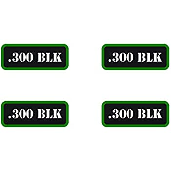 4 Ammo Can Stickers .300 Blackout Ammo Can Labels  OD Ammo Can Decals 300 BLK