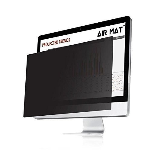 17.0 Inch Privacy Screen Filter for Standard (SQUARE) Monitor (5:4 Aspect Ratio). Best Anti Glare Protector Film for data confidentiality - compare to 3M (17.0)