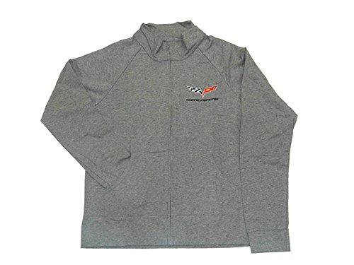 Corvette C6 Women's Jacket Cadet Gray Small