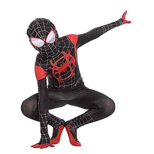 Vera Funk Lycra Spandex Halloween New Into The Spider Verse Miles Morales Cosplay Costumes Adultkids