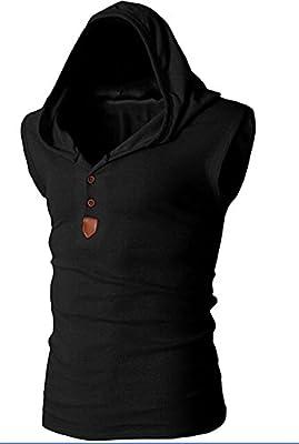 kaured Men's Quilted Freezer Vest