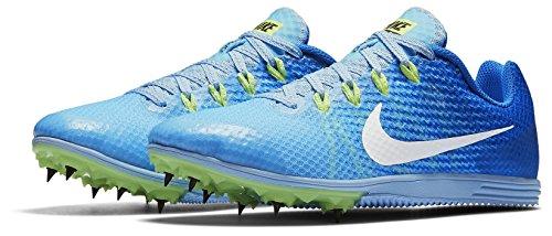 Nike Zoom Rivale D Distanza Traccia Picchi Scarpe Da Donna Taglia 7 (bluecap / Iper Cobalto / Fantasma)
