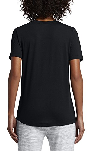 Produttore da donna T Maglietta Maglietta Tee Taglia Fr Xs Nero Bianco Nike Essential wxqgXPWgaA