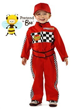 F1 Racing Driver - Kids Costume 3 - 5 years by Pretend to Bee (Racing Driver Costume)
