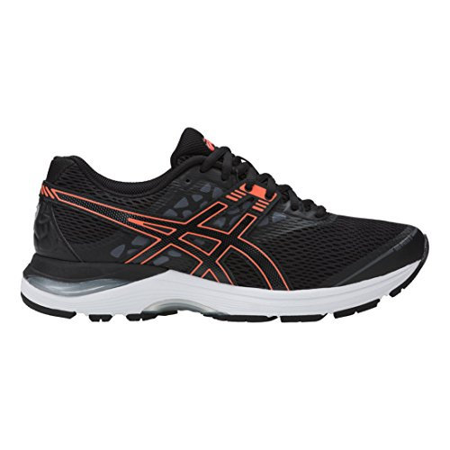 Asics Gel-Pulse 9, Zapatillas de Gimnasia para Mujer Negro (Black/flash Coral/carbon)