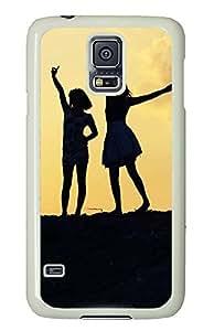 cassette Samsung Galaxy S5 cases Best Friendsever Awesome PC White Custom Samsung Galaxy S5 Case Cover