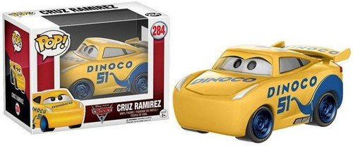 Funko POP Disney Cars 3 Cruz Action (Disney Cars Figure)