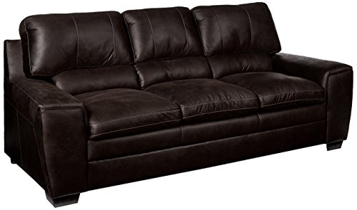 Simmons Upholstery 9085 03 Shiloh Granite Sofa, Dark Gray