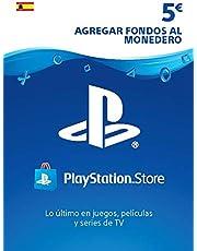Tarjeta PSN Card 5€   Código de descarga PS4 - Cuenta española
