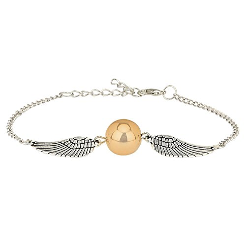 YELLOW CHIMES Harry Potter Inspired Snitch Bracelet for Boys & Girls